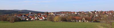 Blick auf Bernhardswald